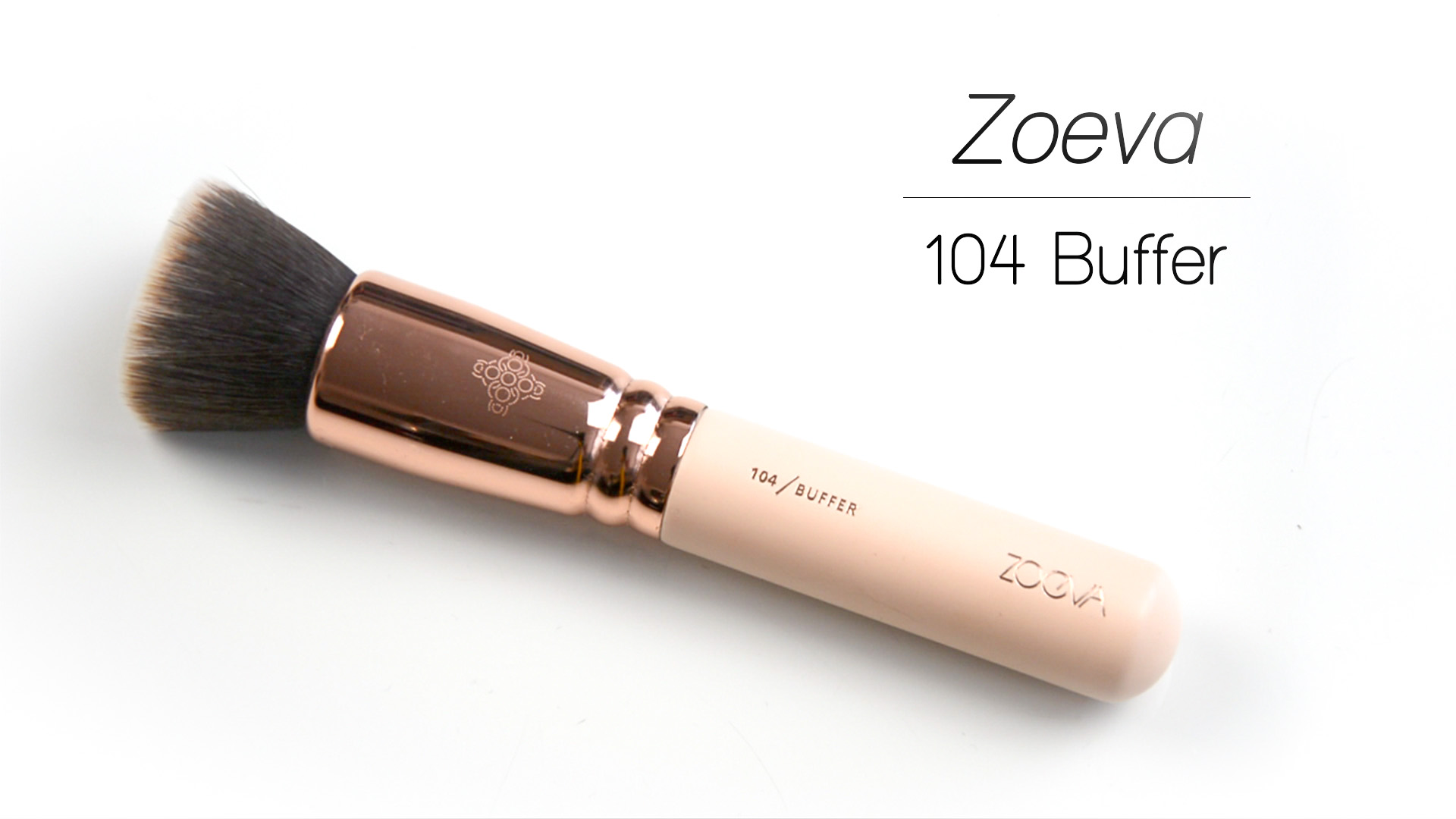 July Favorites | Zoeva 104 Buffer Brush | Lisa Fiege