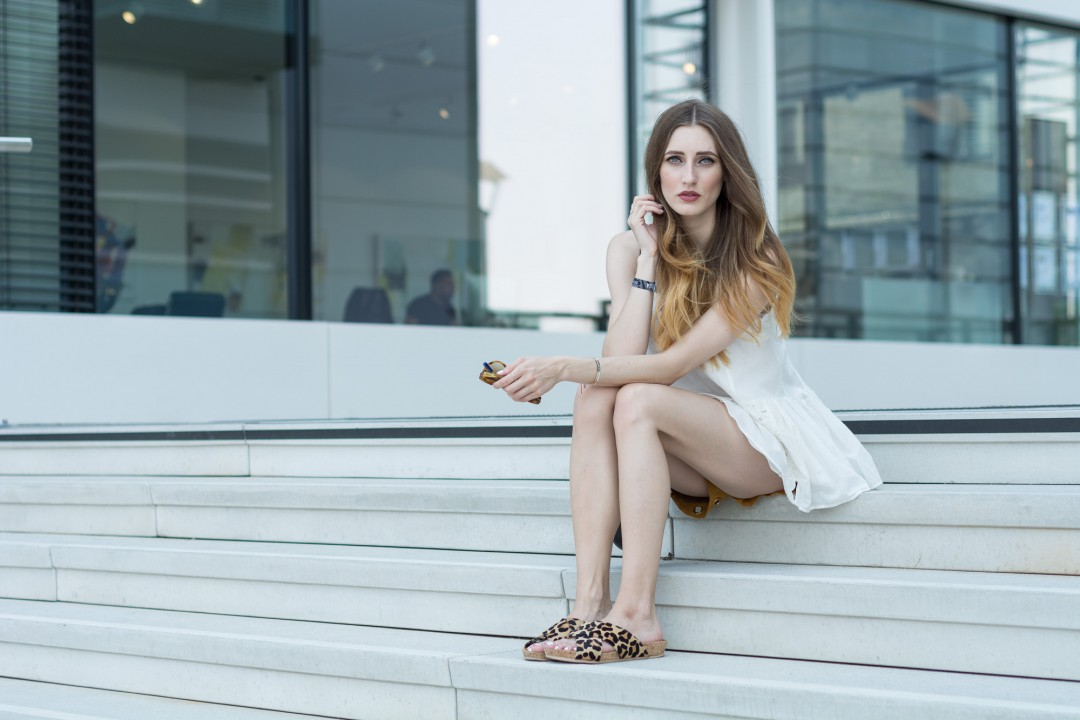 Buffalo Slide Sandals | Lisa Fiege