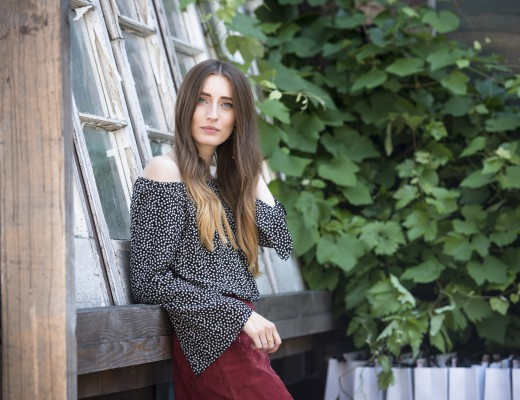 Zara Suede & Off Shoulder Top   Lisa Fiege
