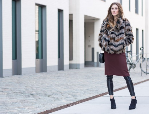 Faux Fur Jacket by Next via Otto | Lisa Fiege
