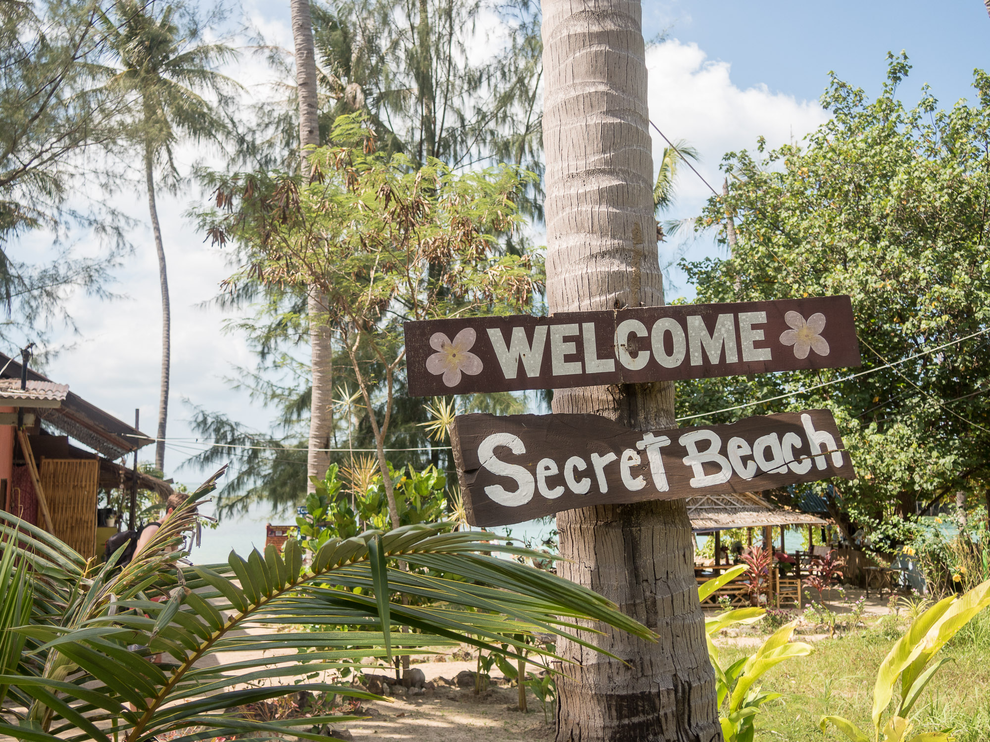 Secret Beach Koh Phangan | Lisa Fiege