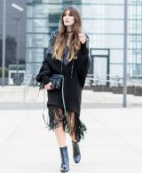 Odd Molly Fringe Dress & Buffalo Ankle Boots | Lisa Fiege