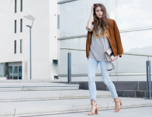 Lace-Up Details & Skinny Jeans | Lisa Fiege
