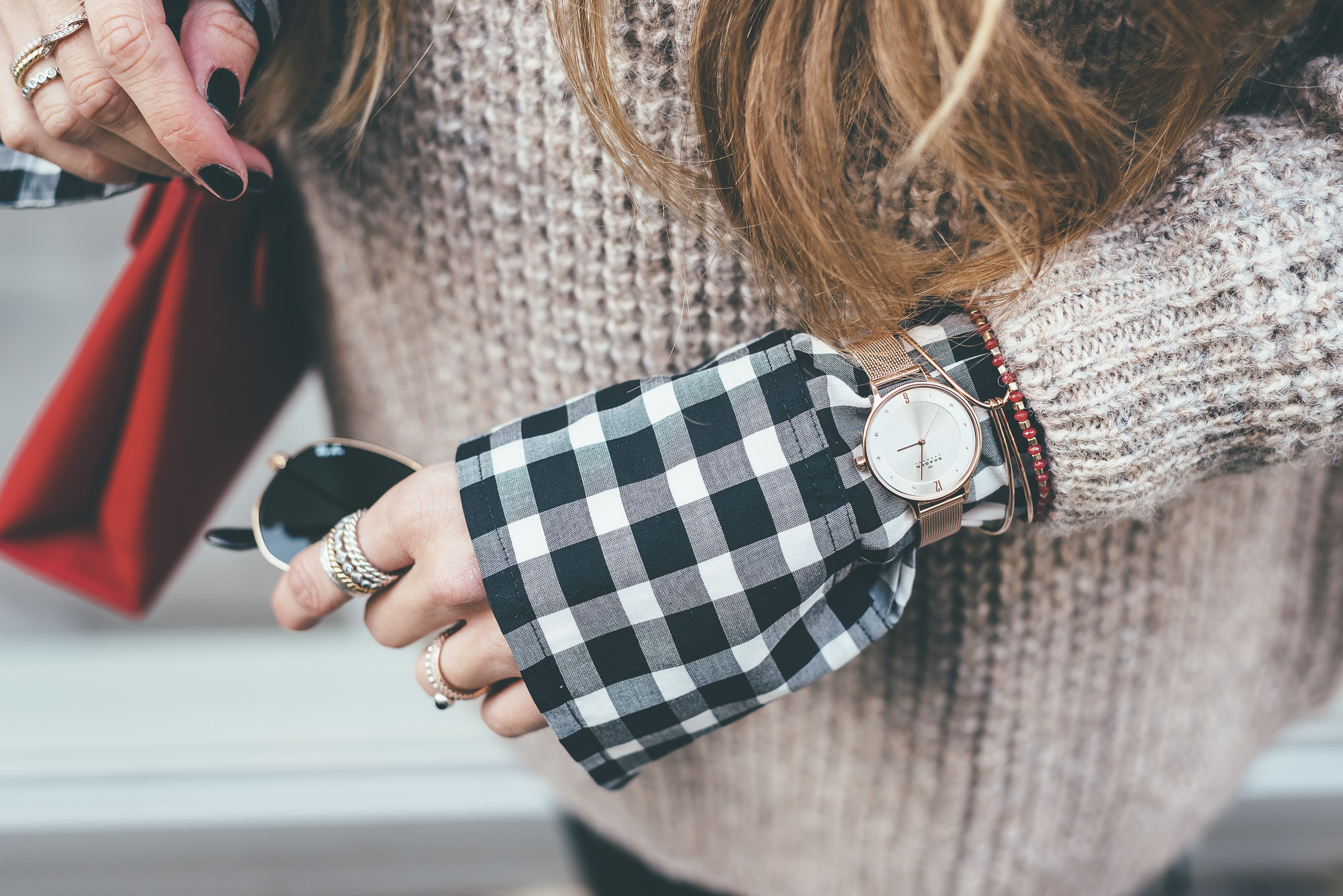 Skagen rosegold Watch and Jewelry | Lisa Fiege