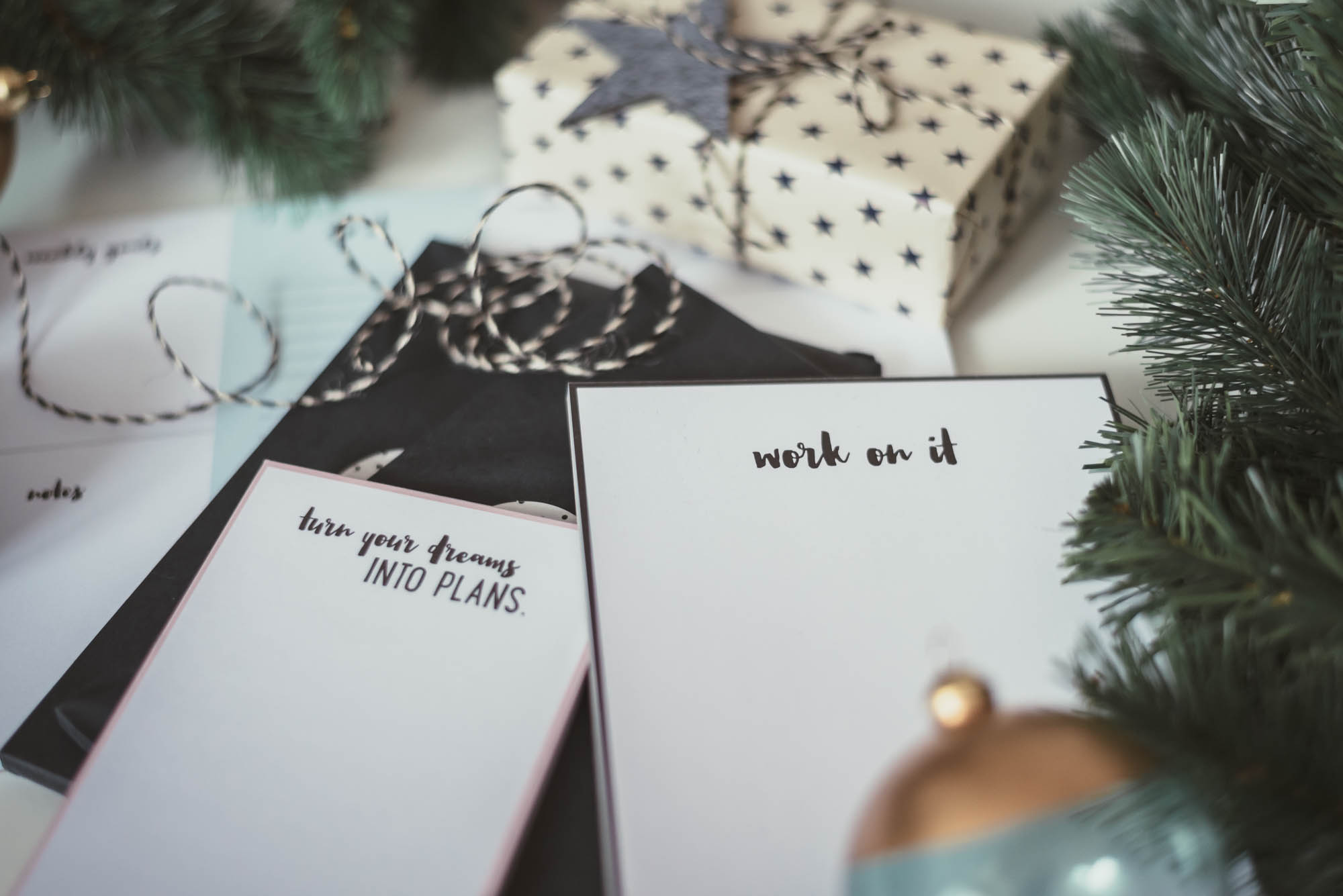 Christmas Gift Guide for Her | Oder nicht oder Doch Notebooks | Lisa Fiege
