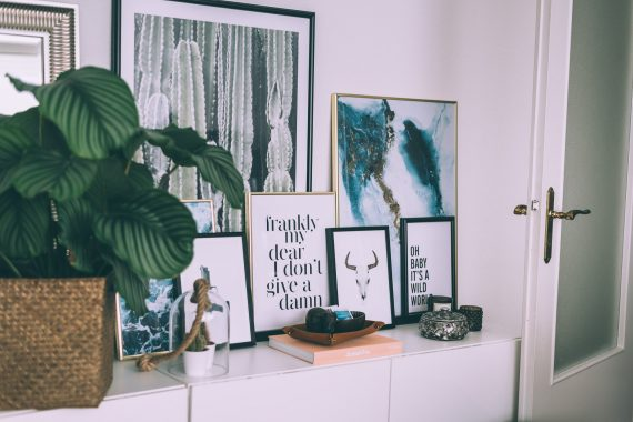 How to easy Gallery Wall with Desenio | Lisa Fiege