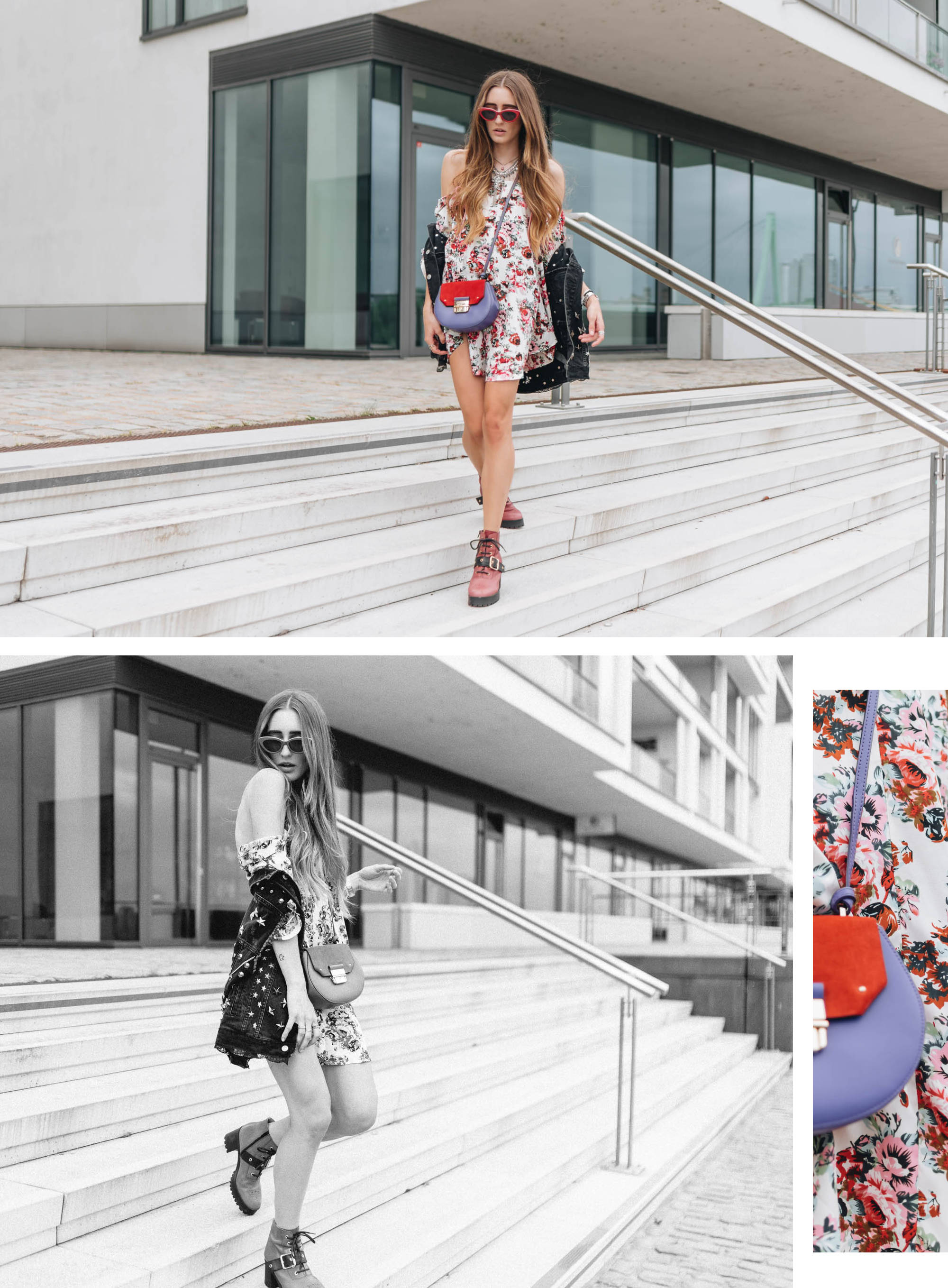 Floral Dress Styling | Lisa Fiege