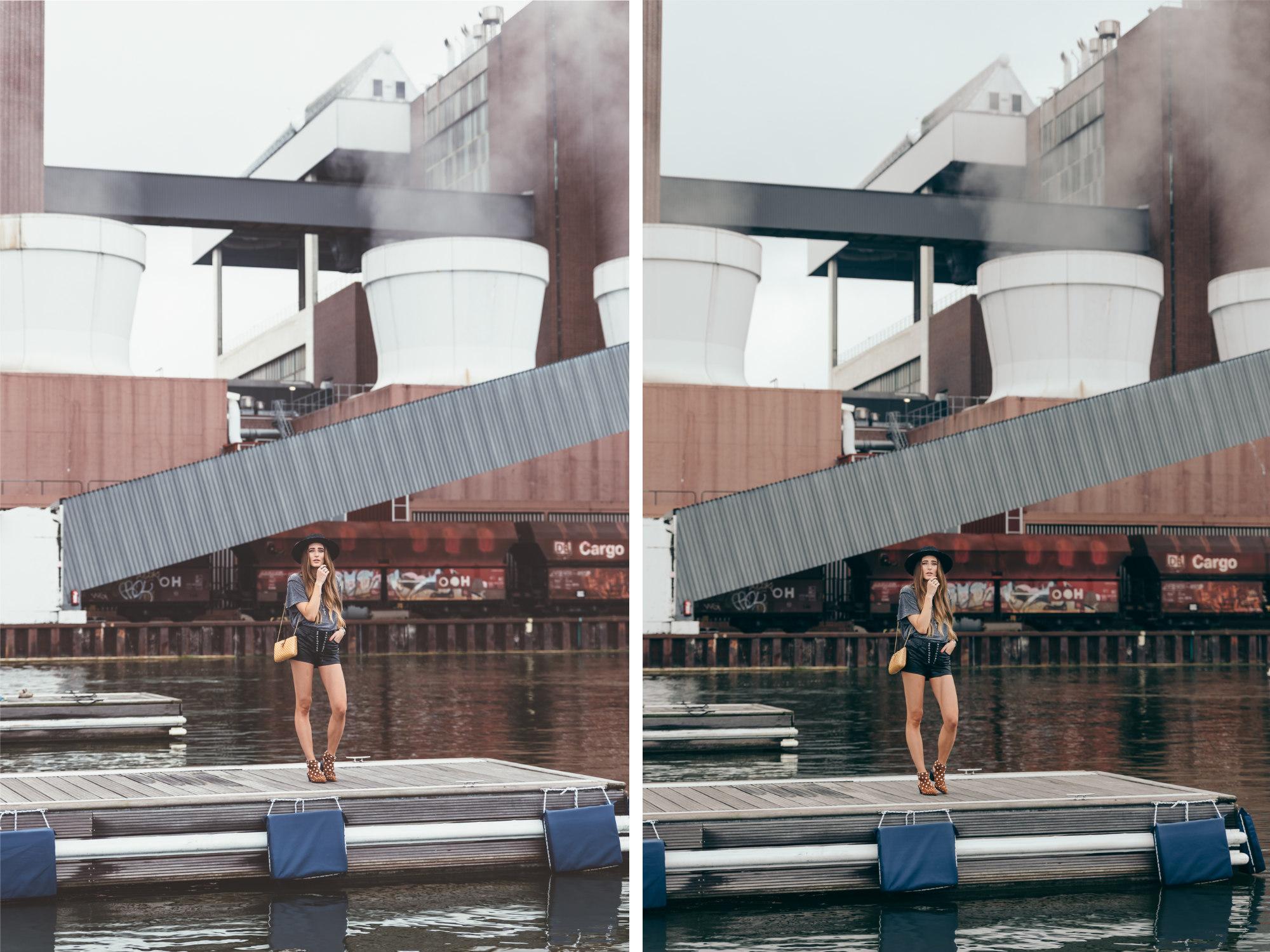 Lace-up Shorts | Autostadt Wolfsburg | Lisa Fiege