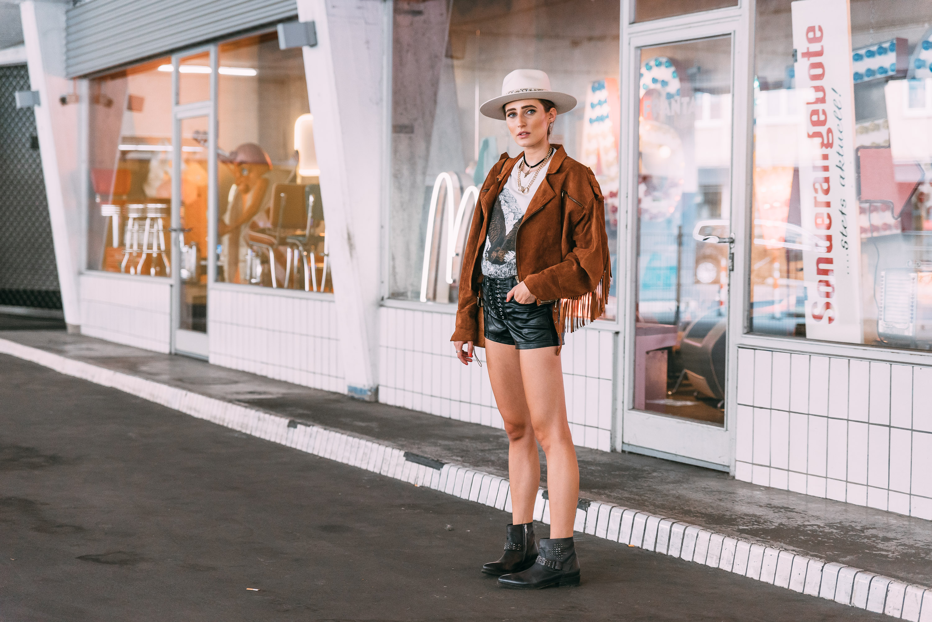 Crickit Cowboy Ankle Boots | Lisa Fiege