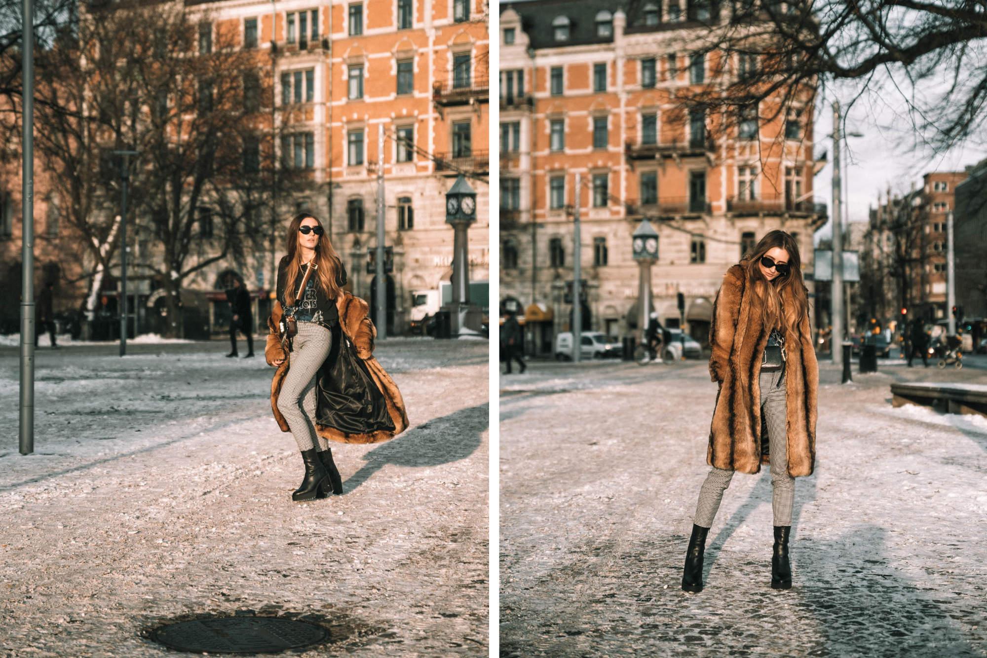 Gingham Trend in Stockholm   Lisa Fiege