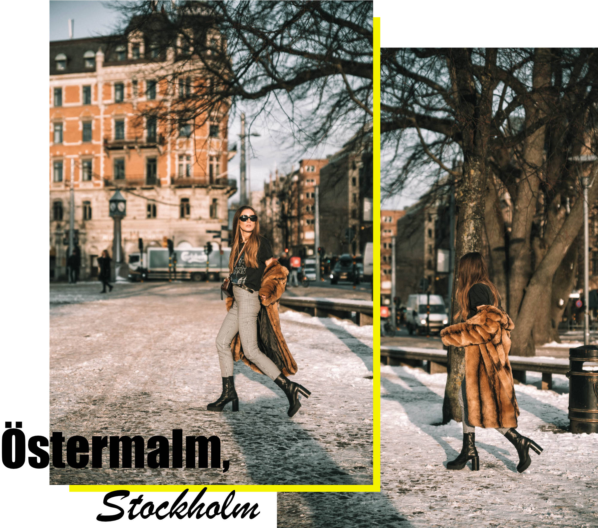 Gingham Trend in Stockholm | Lisa Fiege