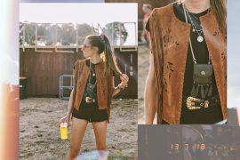Festival Look | Designer Outlet Roermond | Lisa Fiege