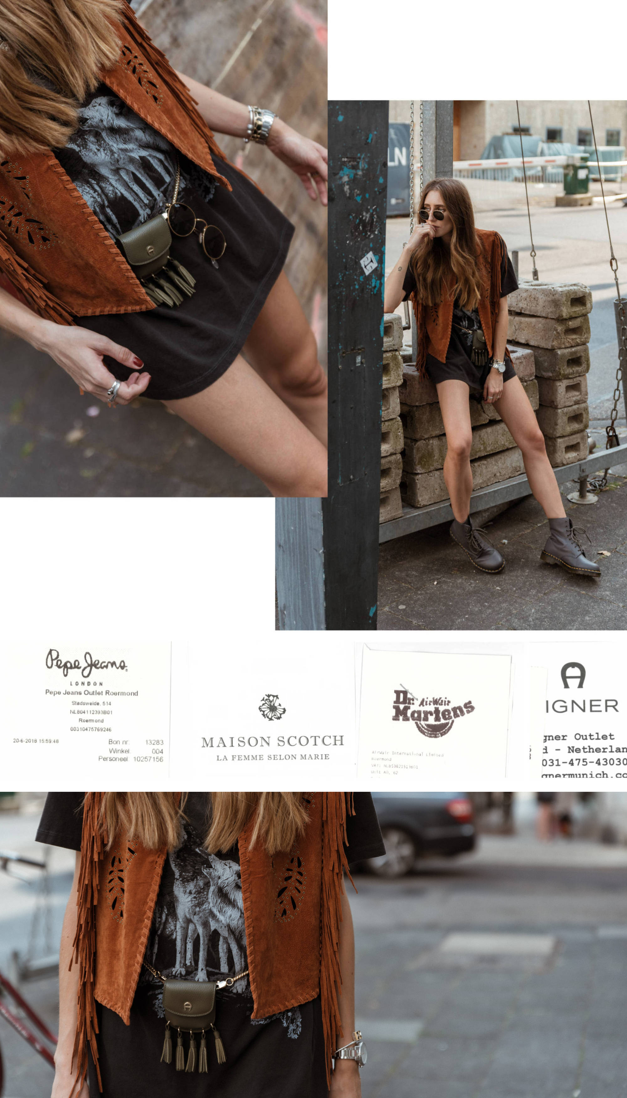 Festival Look | Designer Outlet Roermond | Lisa Fiege