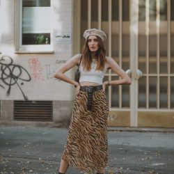 Tiger Midi Skirt | Lisa Fiege