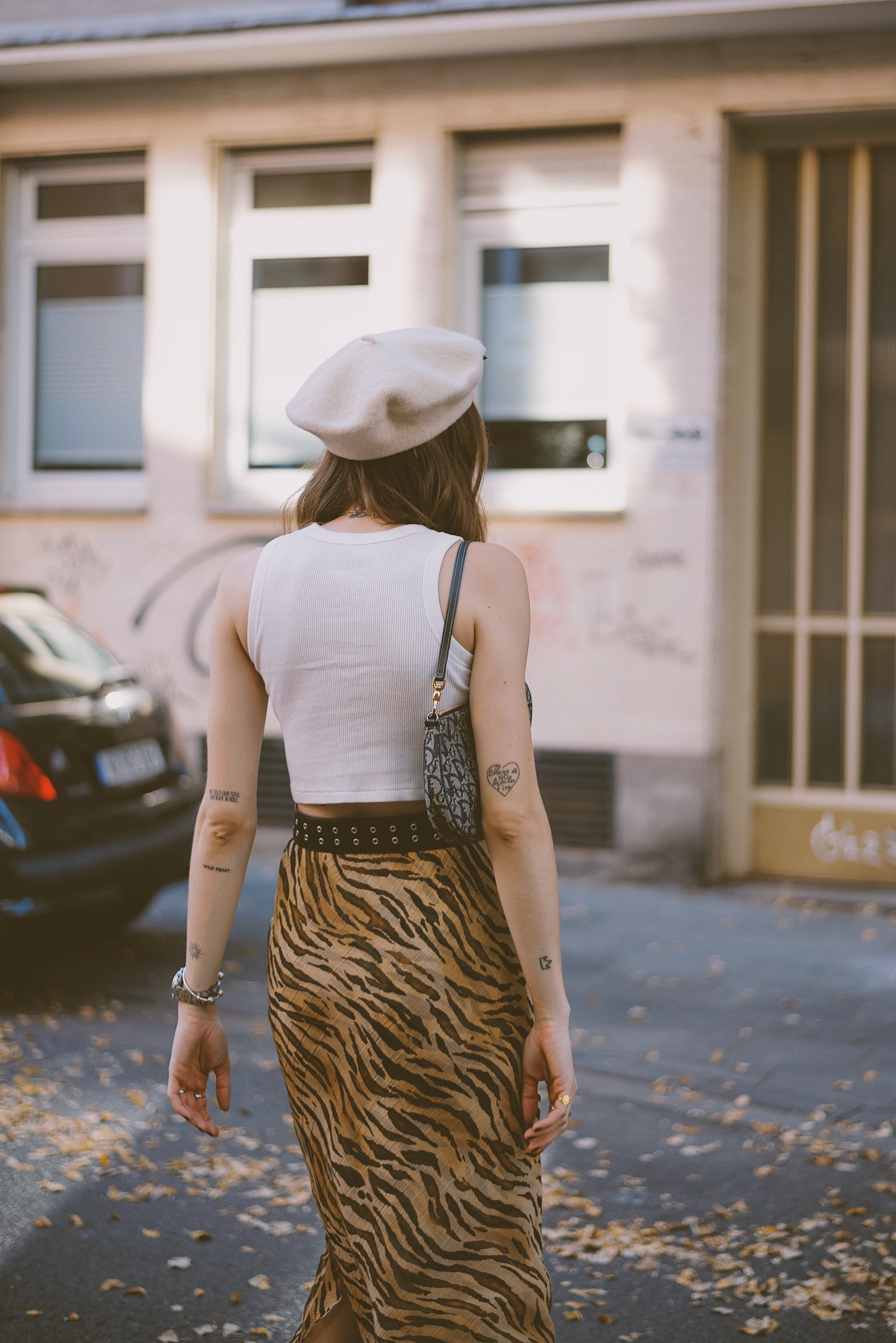 Tiger Midi Skirt | Lisa Fiege