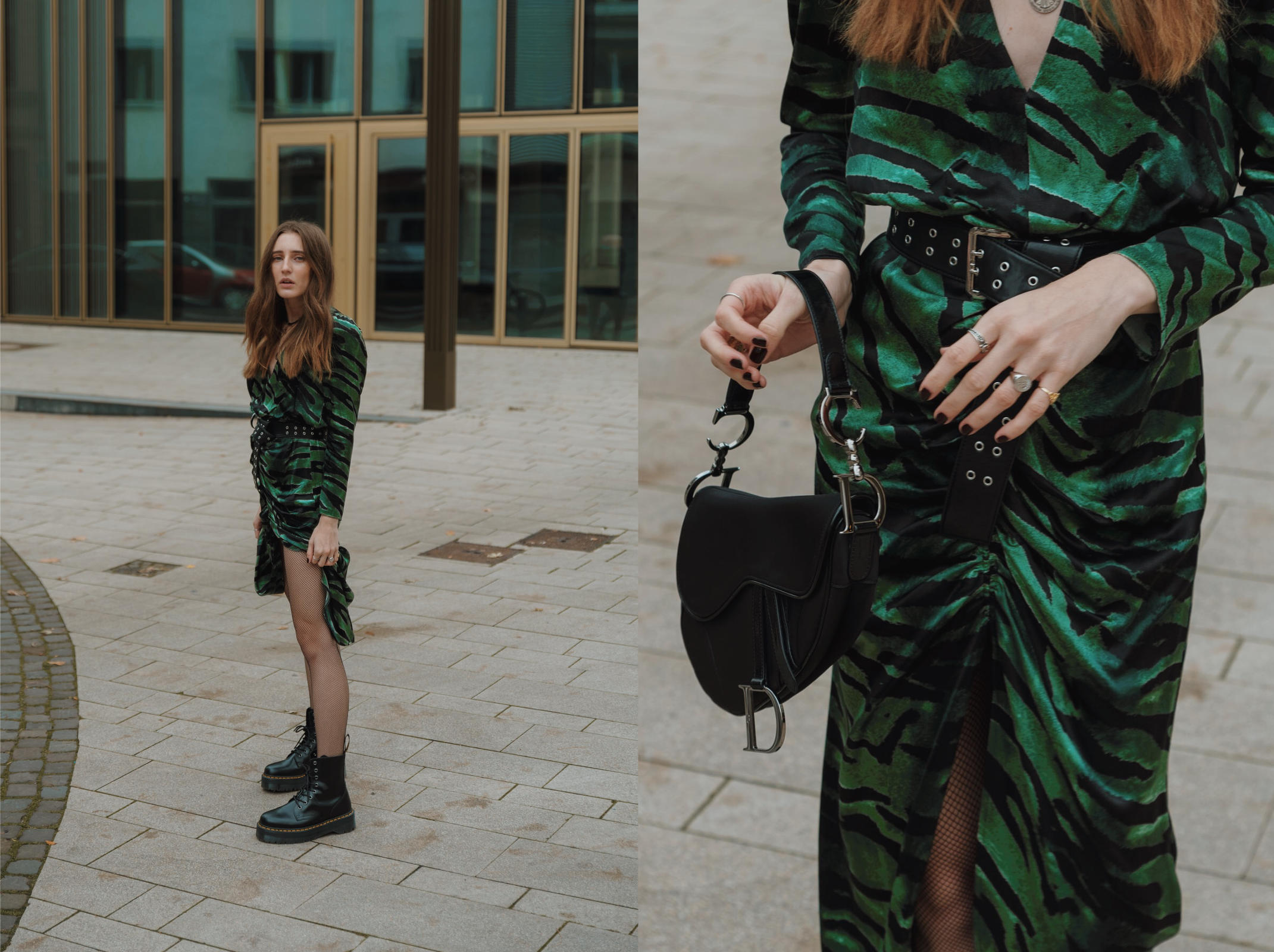 Topshop Midi Dress | Lisa Fiege