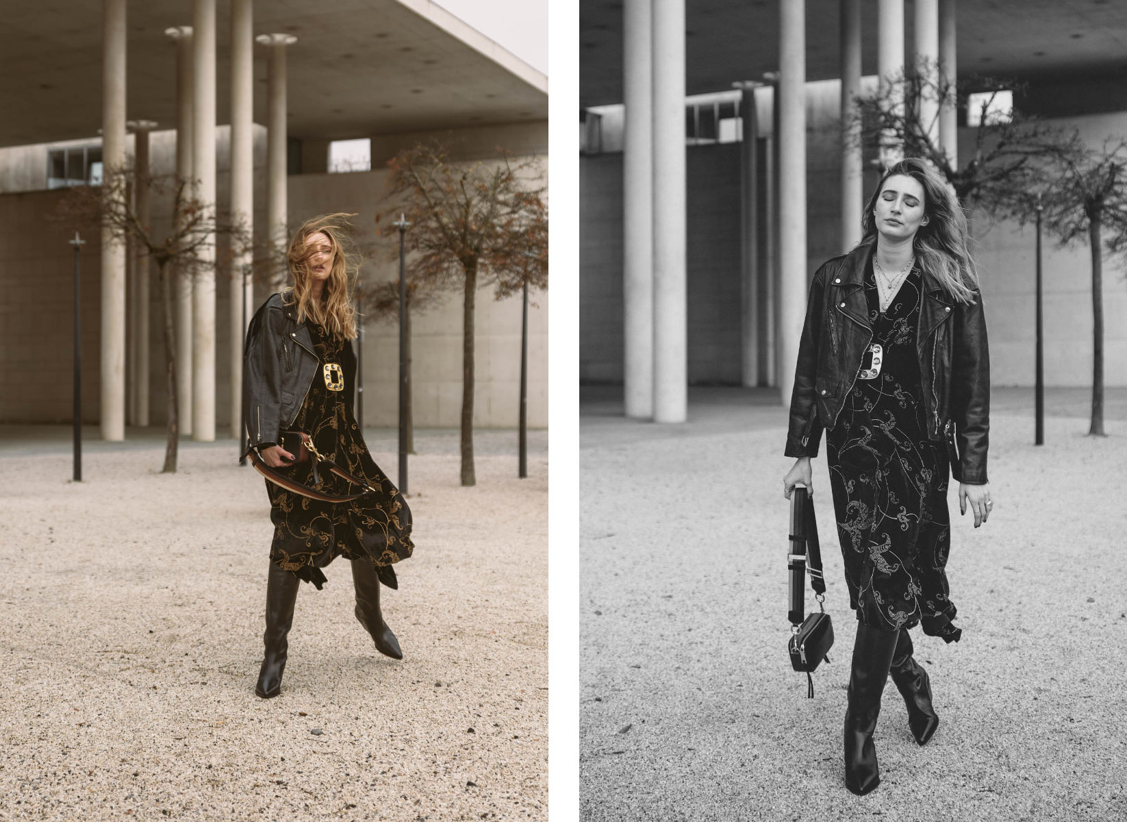 Black Maxi Dress | Lisa Fiege