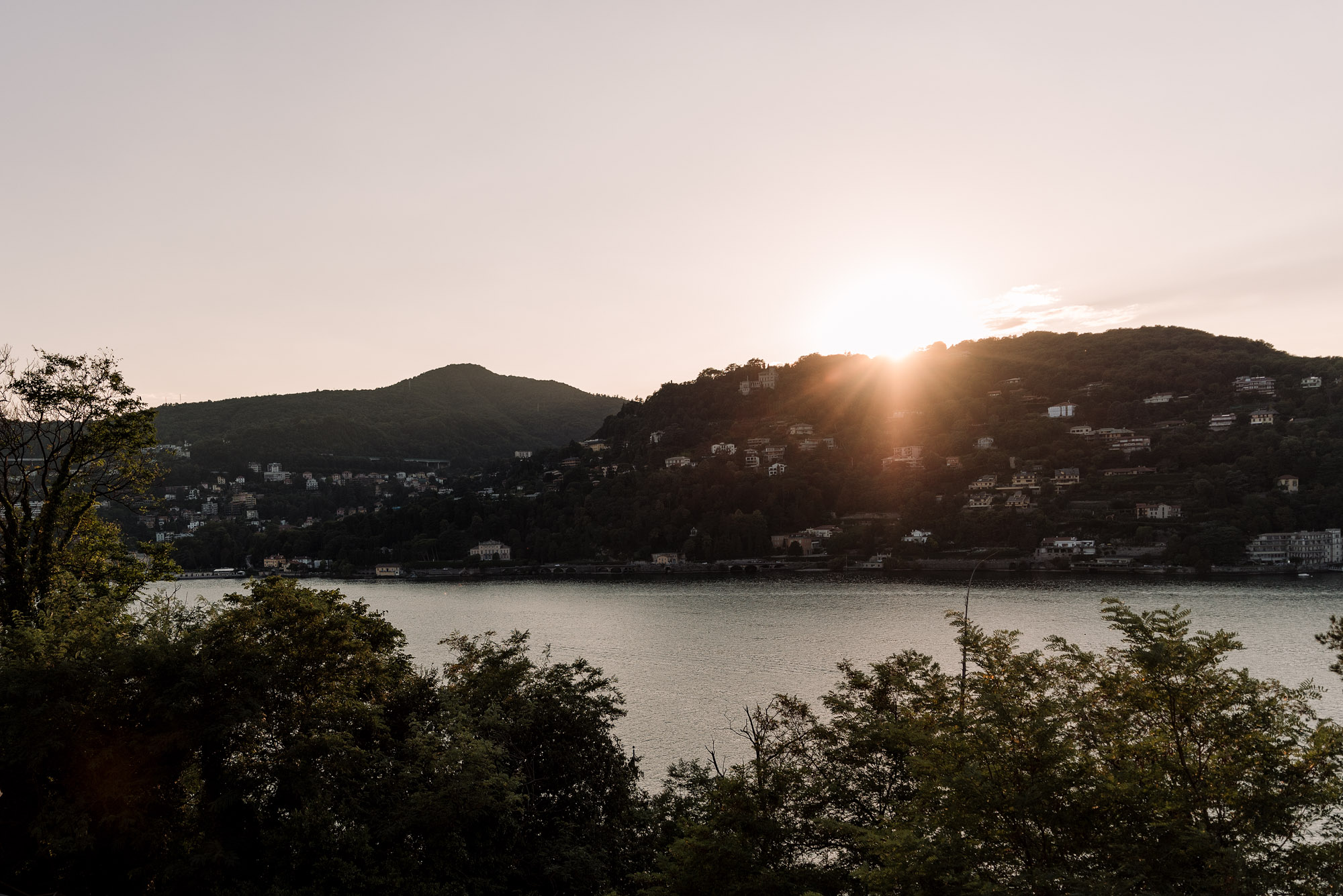 Another Como Sunset | Italy Roadtrip | Lisa Fiege | Blog & Content Creation