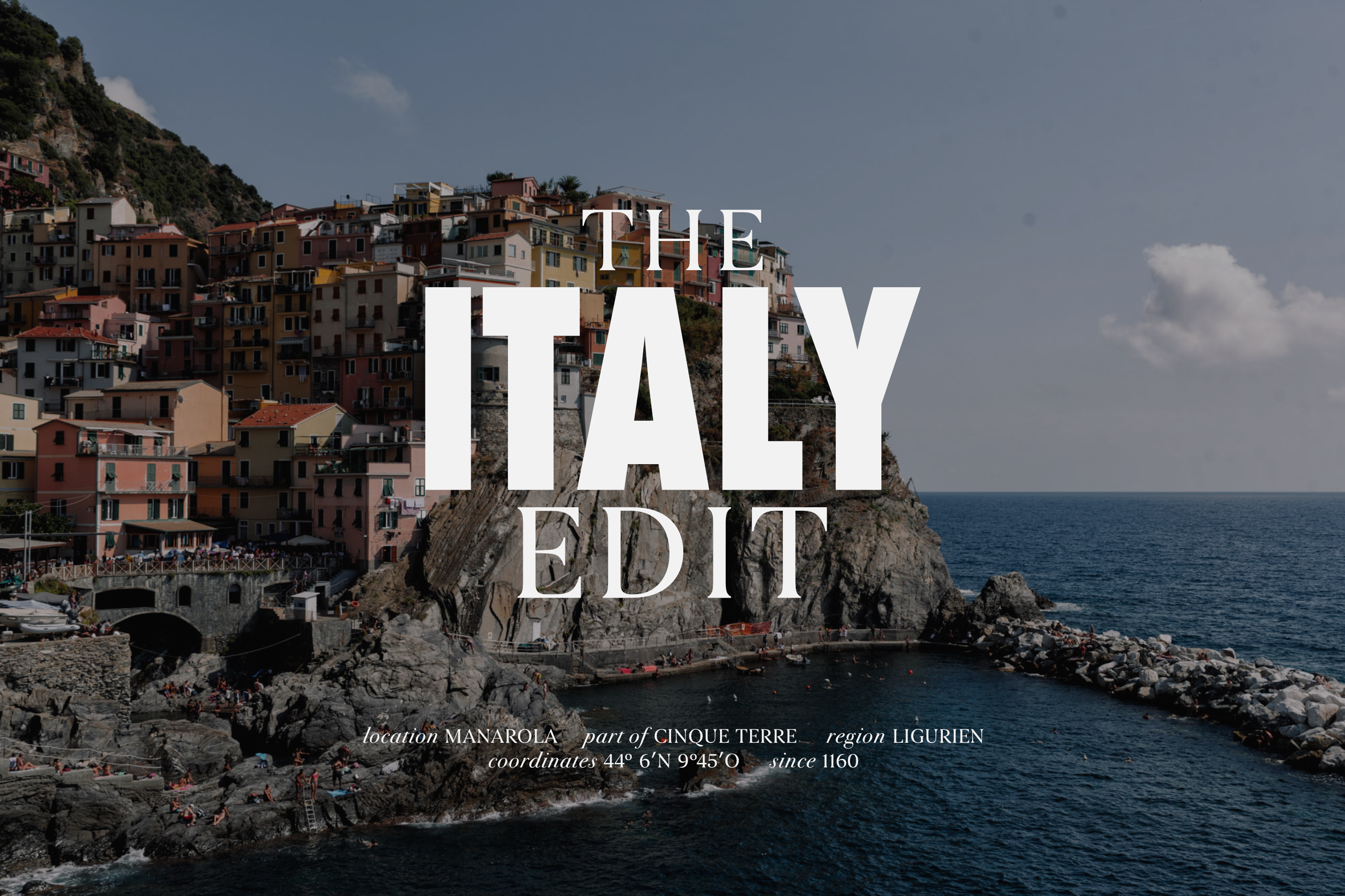 The Italy Edit | Lisa Fiege | Blog & Content Creation